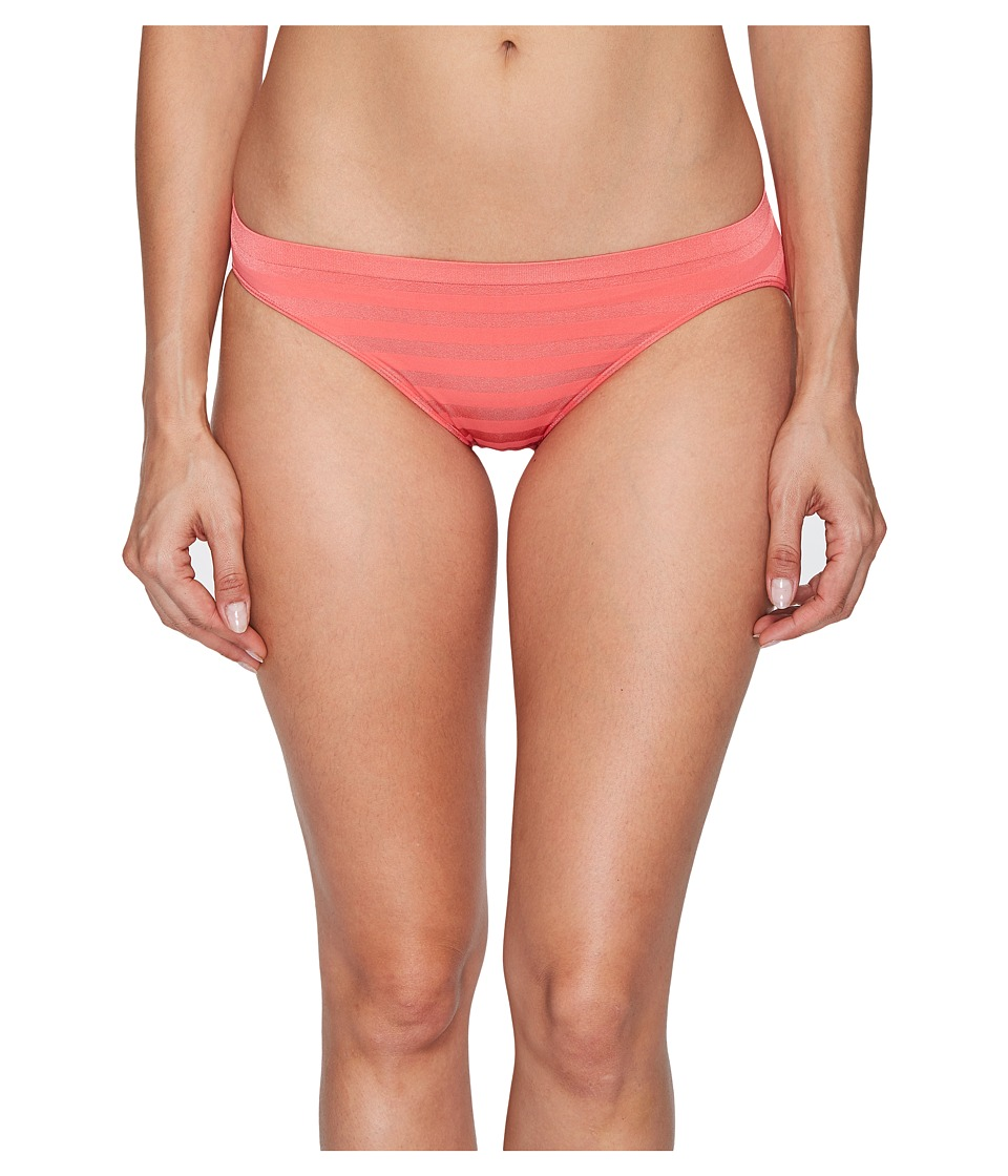 Jockey - Comfies Matte Shine Bikini (Sunkissed Pink) Women's Underwear
