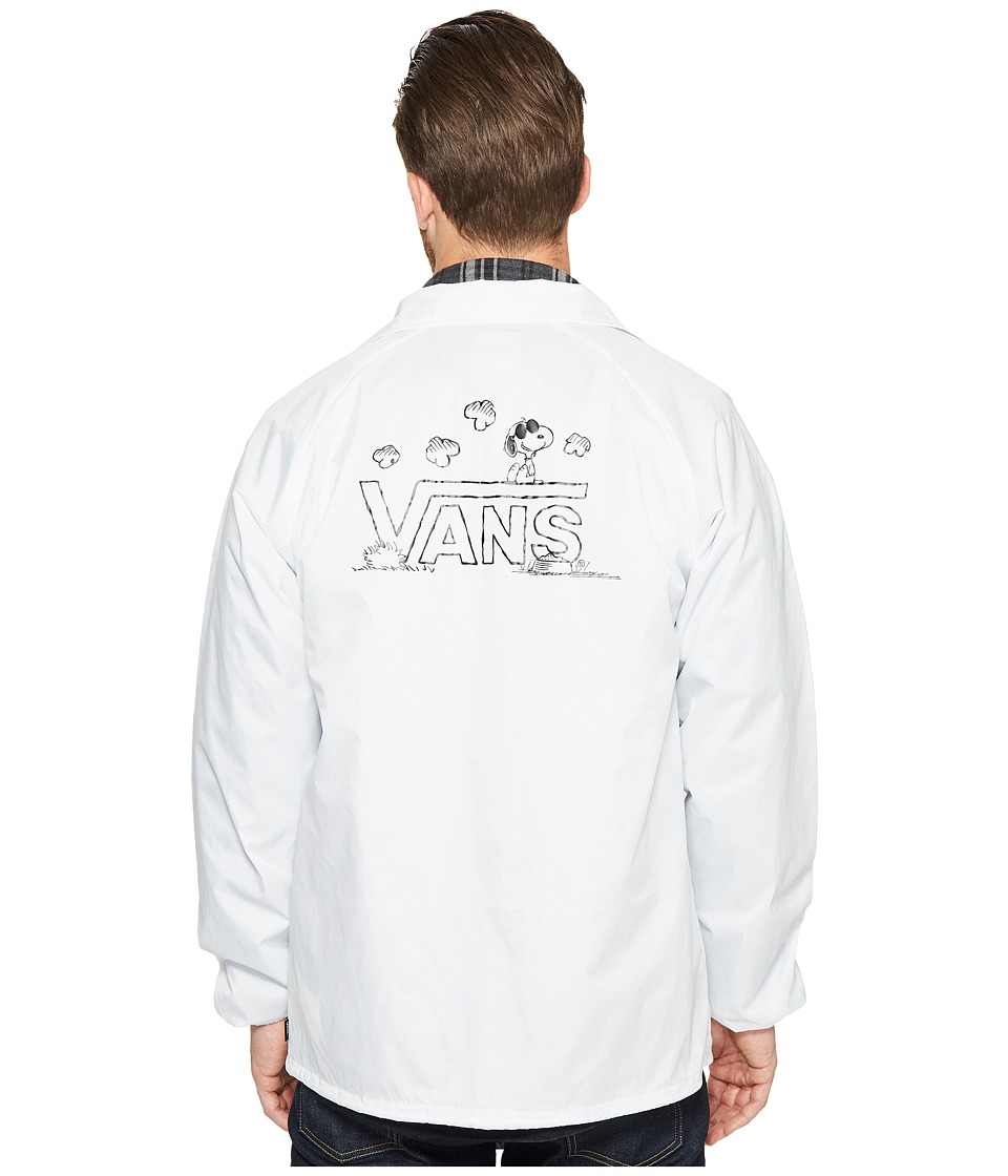 Vans - Torrey X Peanuts Jacket (White (Peanuts)) Men's Coat
