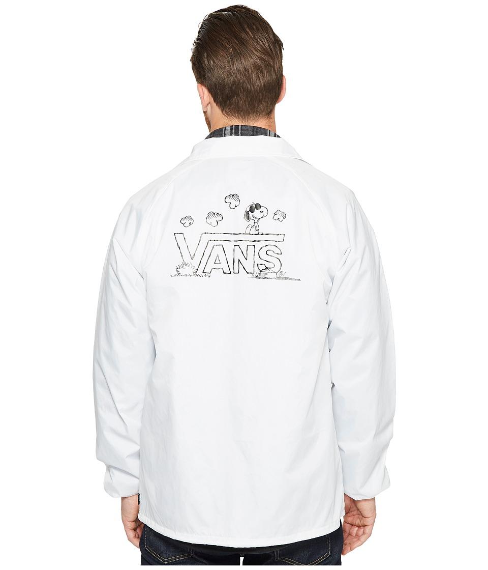 Vans - Torrey X Peanuts Jacket (White (Peanuts)) Men's Coat