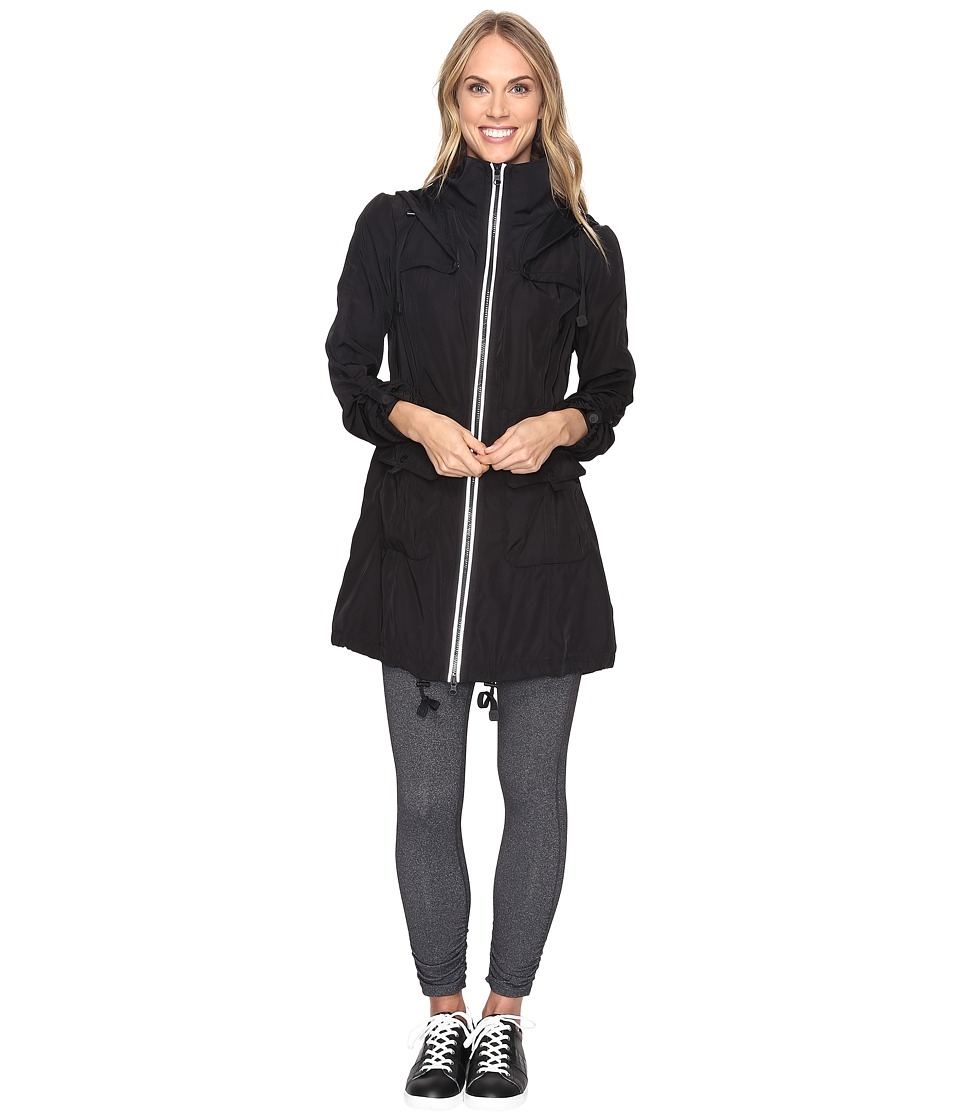 Blanc Noir - Explorer Anorak (Black) Women's Coat
