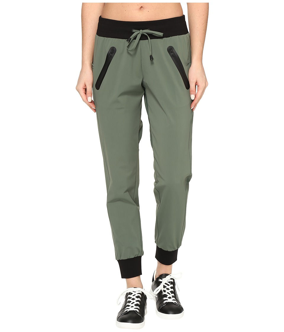 Blanc Noir - Tech Jogger (Olive) Women's Workout
