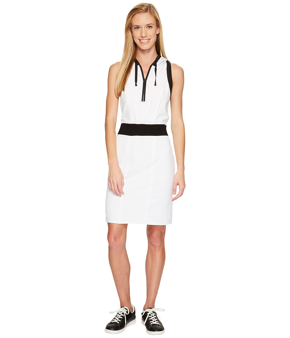 Blanc Noir - Relax Dress (White/Black) Women's Dress