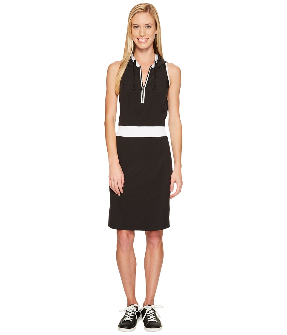 Blanc Noir - Relax Dress (Black/White) Women's Dress