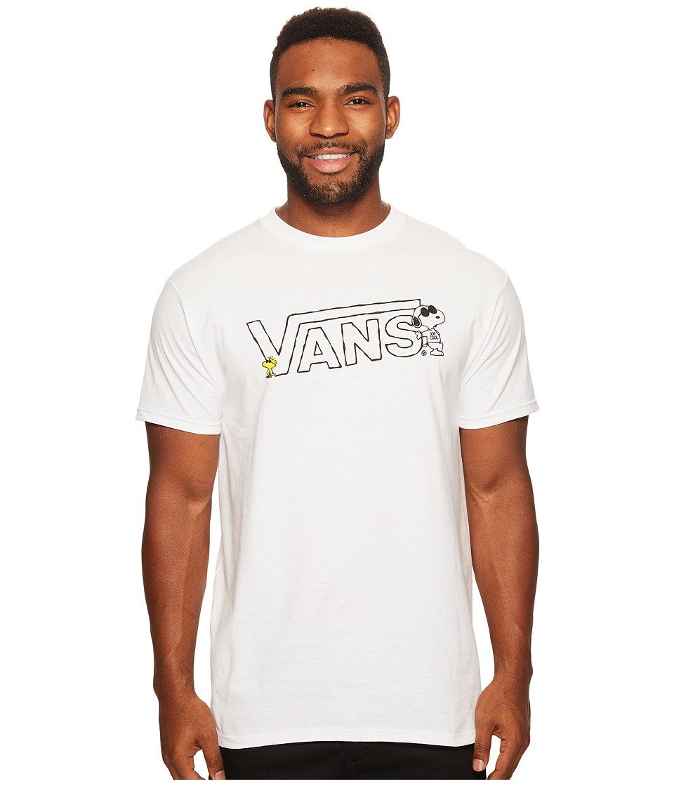 Vans - Peanuts Short Sleeve Tee (White) Men's T Shirt