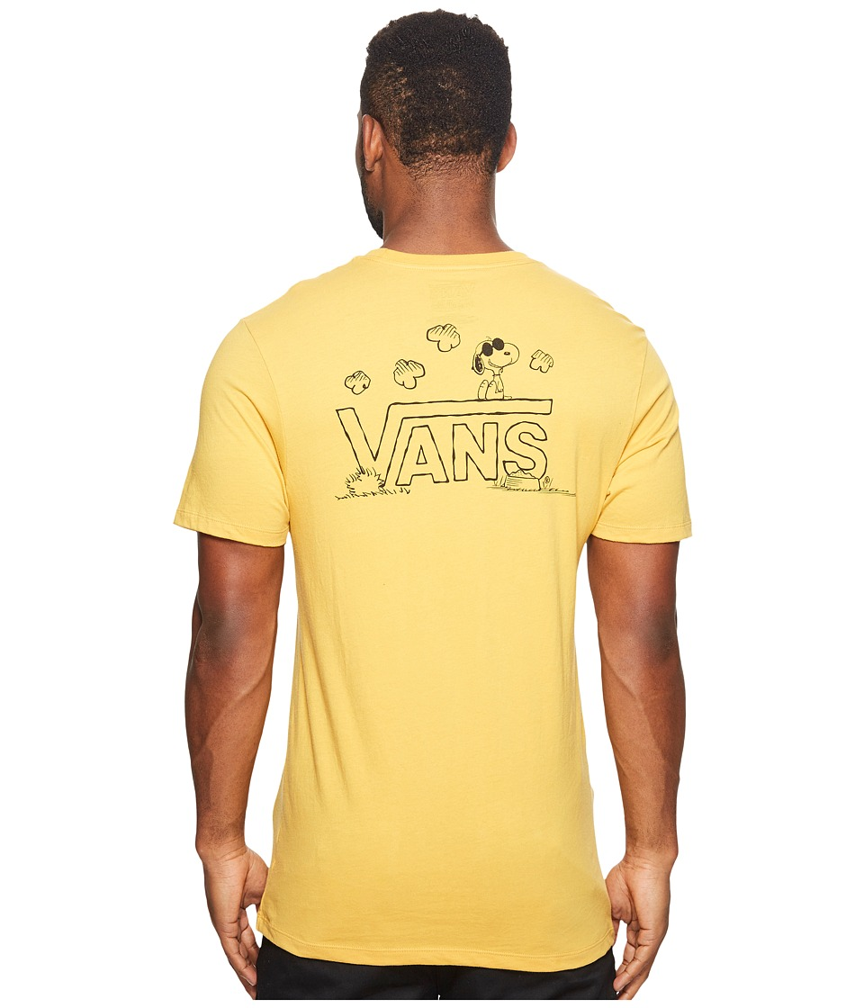 Vans - Classic Snoopy Tee (Mineral Yellow) Men's T Shirt