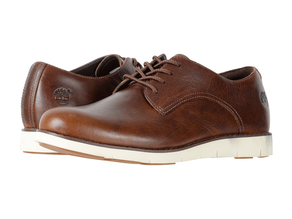 Timberland Lakeville Oxford (Medium Brown Full-Grain) Women's Lace up  casual Shoes