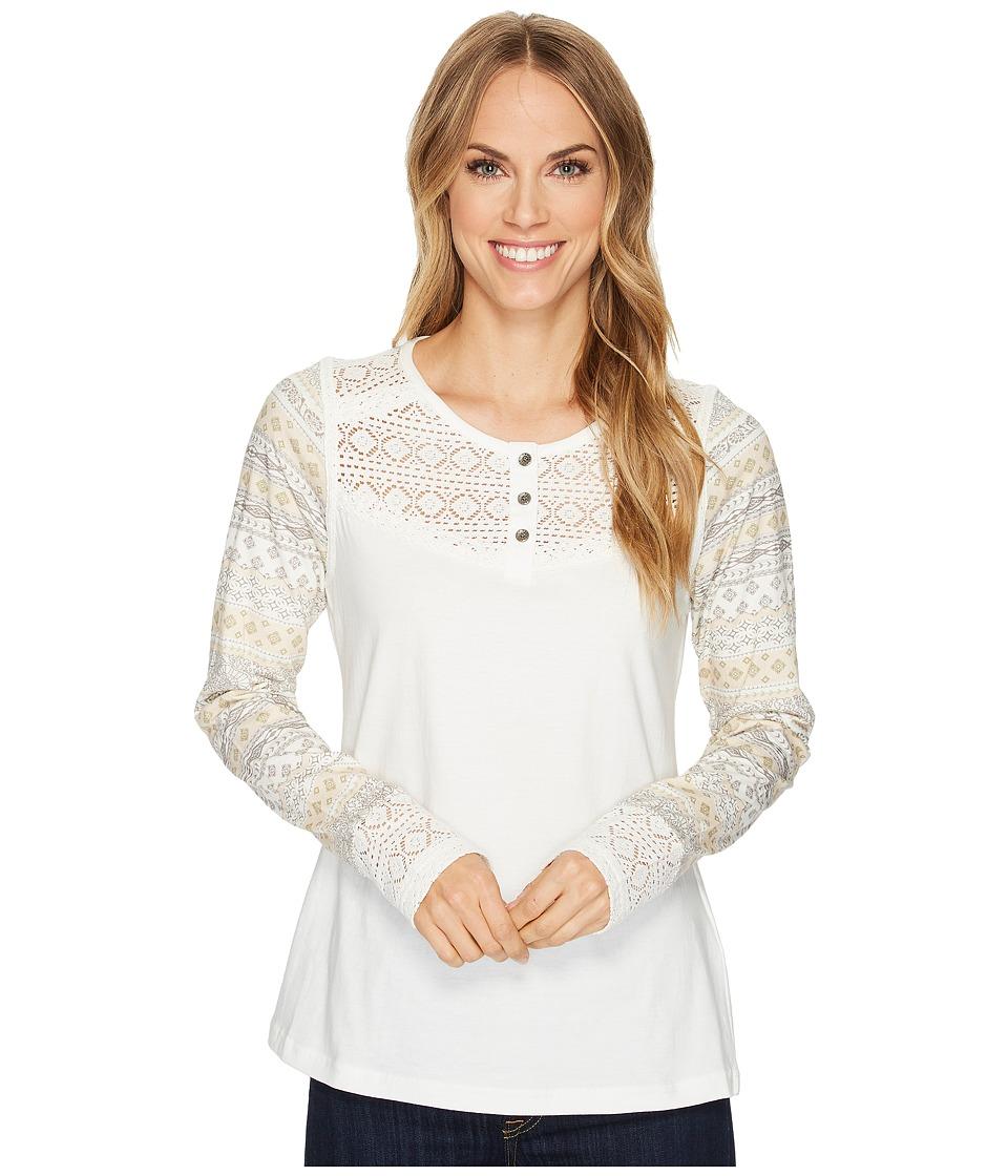 Aventura Clothing Morgan Long Sleeve (Whisper White) Women