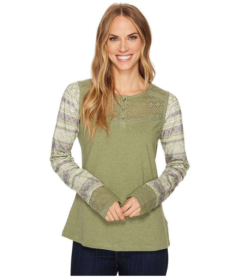 Aventura Clothing Morgan Long Sleeve (Oil Green) Women