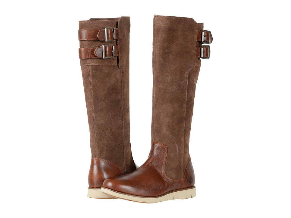 Timberland Lakeville Tall Boot (Medium Brown Full-Grain) Women