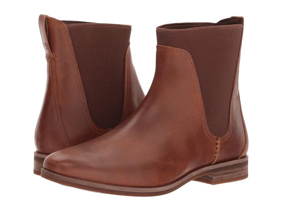 Timberland Somers Falls Chelsea Boot (Medium Brown Full-Grain) Women