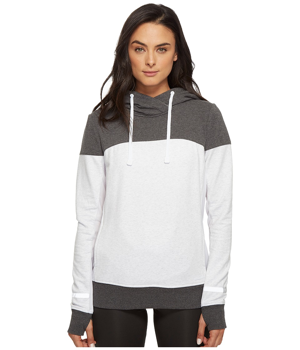 Blanc Noir - Cross Over Hoodie (Ash Heather) Women's Sweatshirt