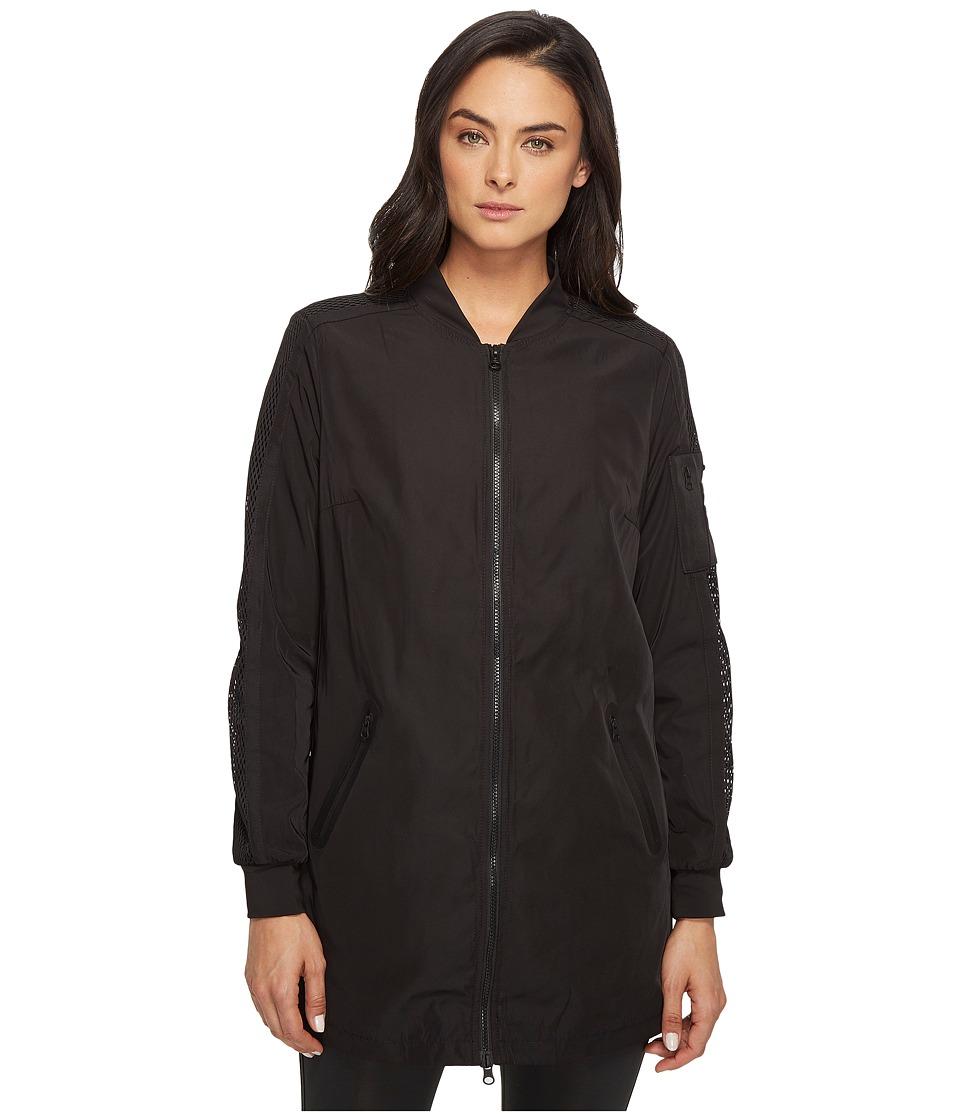 Blanc Noir - Boyfriend Bomber (Black) Women's Jacket