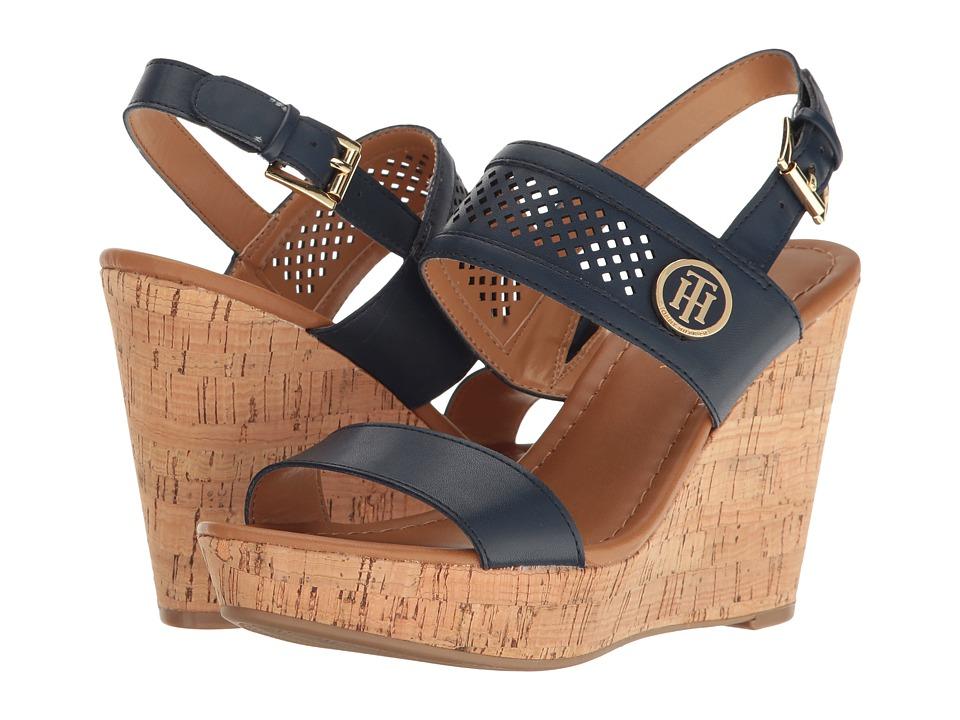 Tommy Hilfiger - Memili (Navy) Women's Shoes