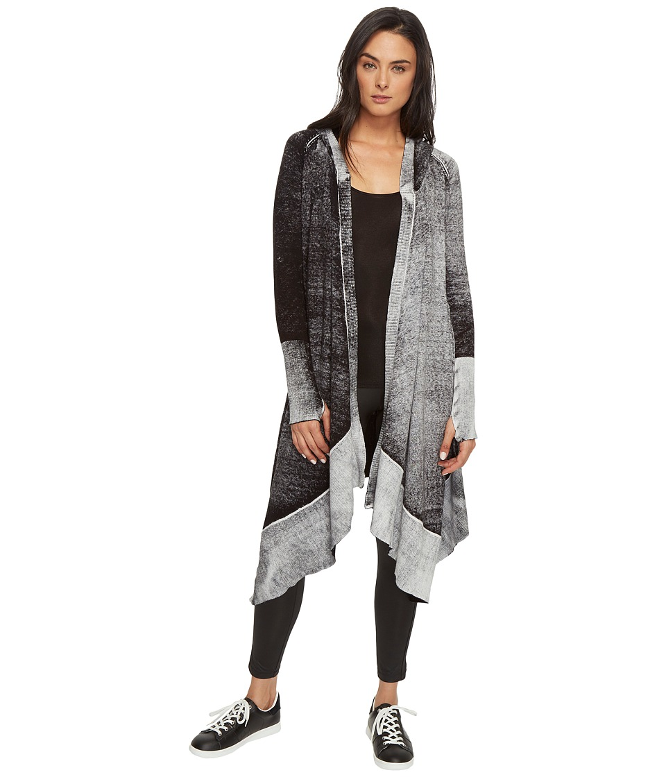 Blanc Noir - Hunter Cardigan (Black) Women's Sweater