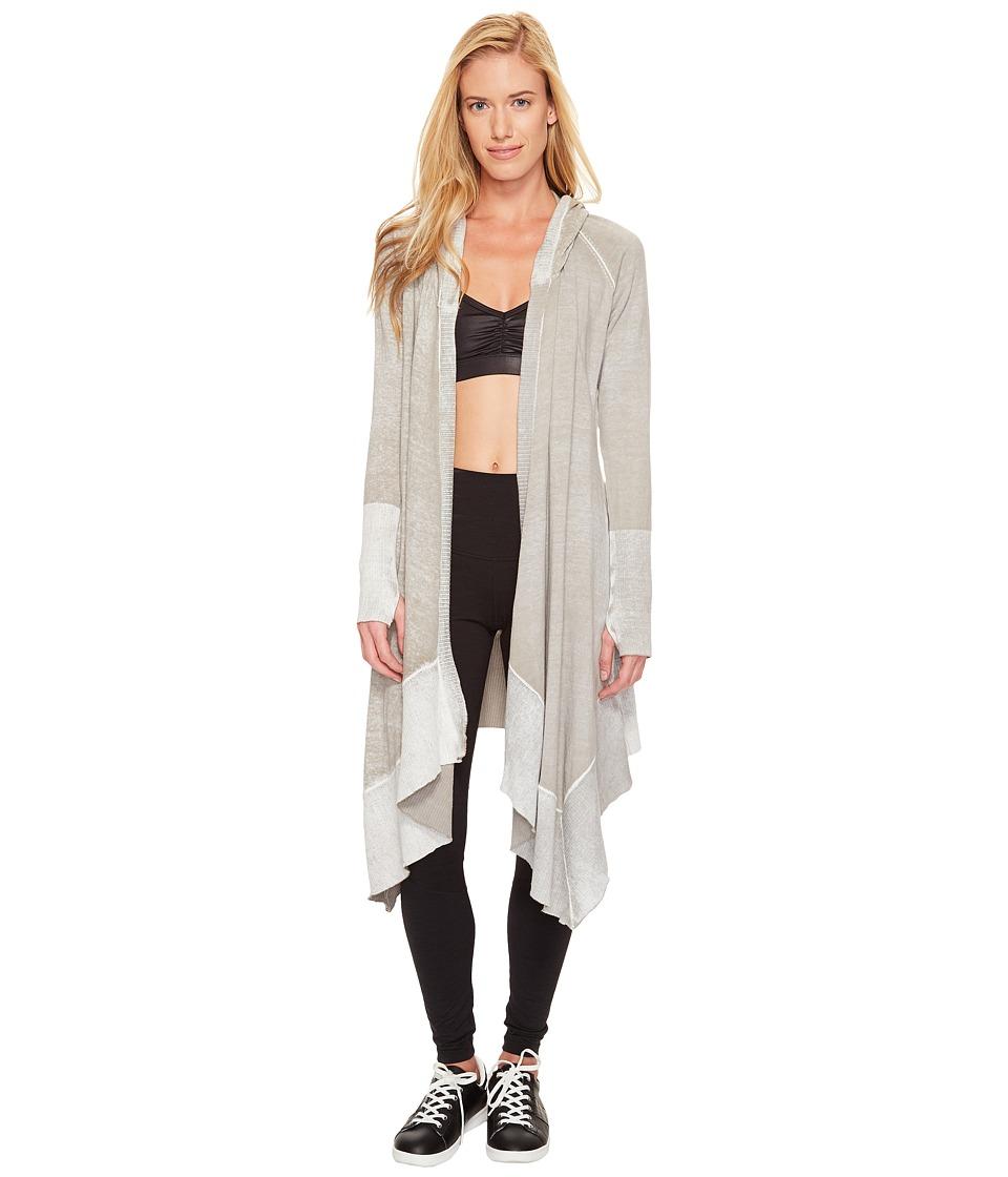 Blanc Noir - Hunter Cardigan (Grey) Women's Sweater