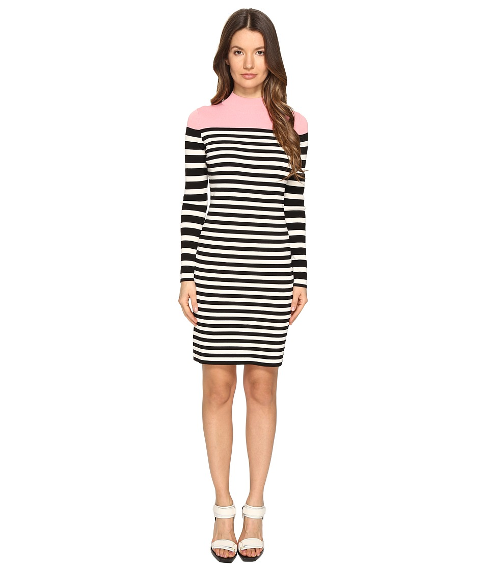 Sonia Rykiel Color Block and Striped Dress