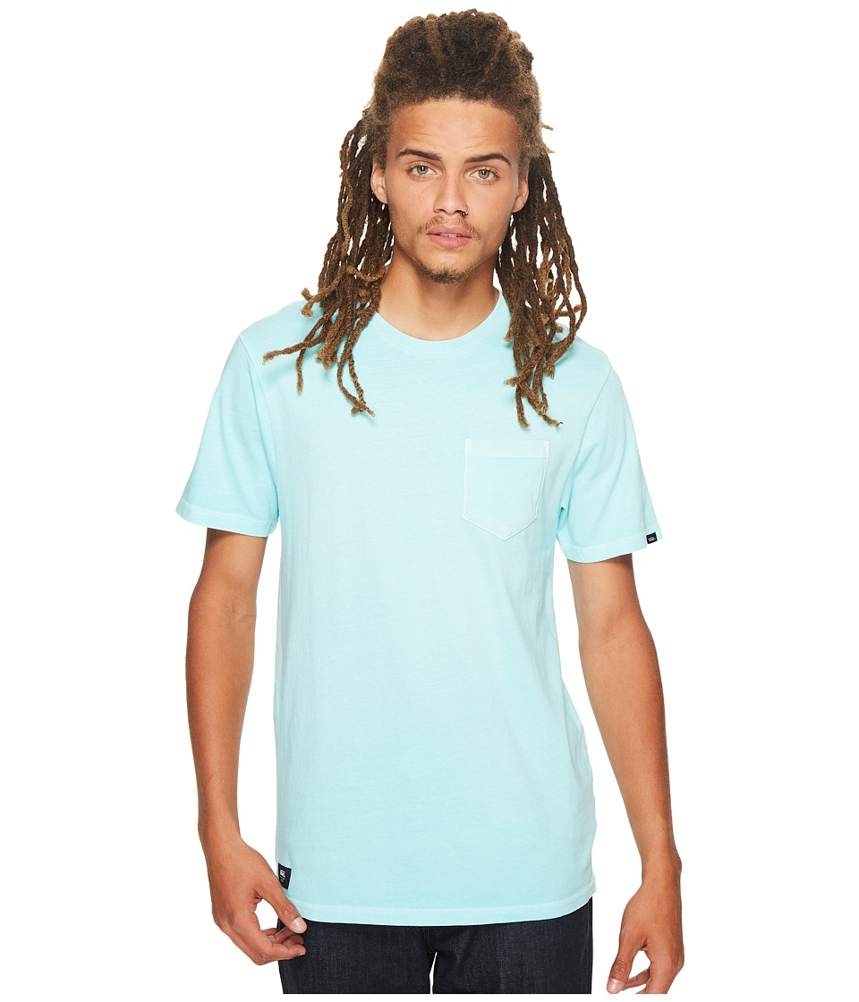 Vans - Washed Everyday Pocket Tee (Aqua Sky) Men's T Shirt
