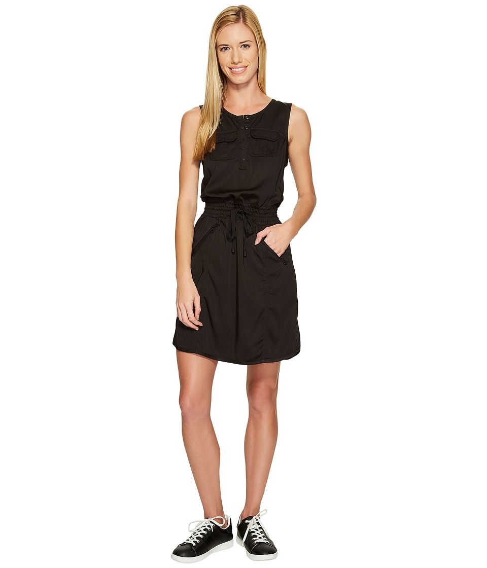 Blanc Noir - Aviator Dress (Black) Women's Dress