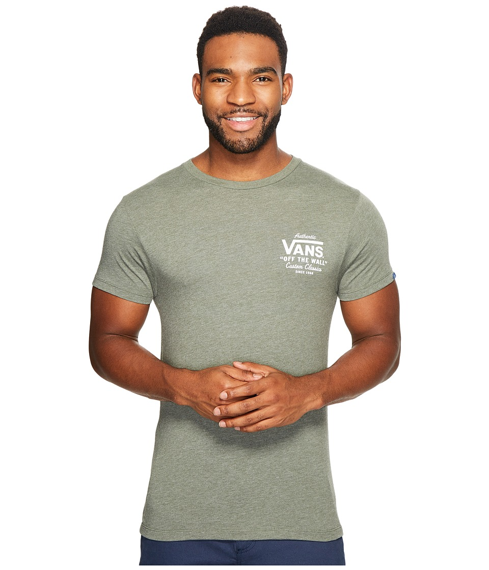Vans - Holder Street II Tee (Olive Heather) Men's T Shirt