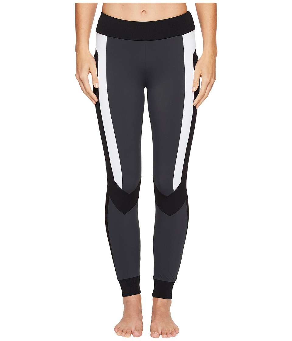 Blanc Noir - Pirouette Leggings (Charcoal) Women's Workout