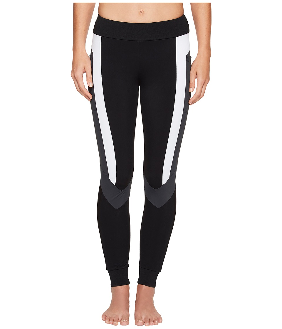 Blanc Noir - Pirouette Leggings (Black) Women's Workout