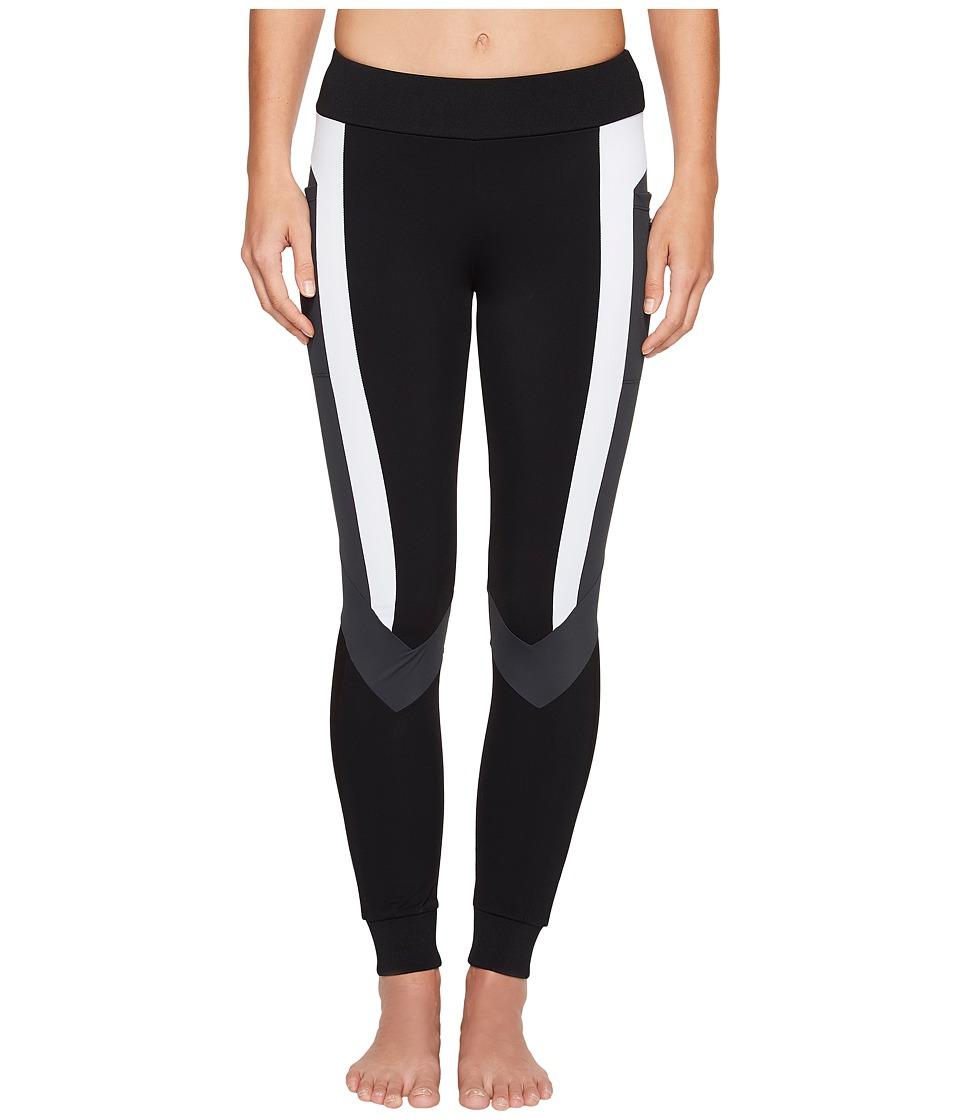 Blanc Noir - Pirouette Leggings (Black) Women's Workout