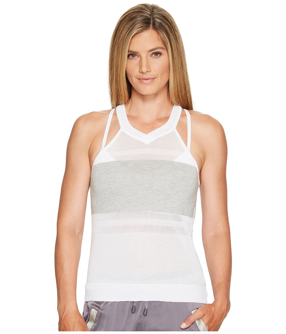 Blanc Noir - Vue Sweater Tank (White) Women's Workout
