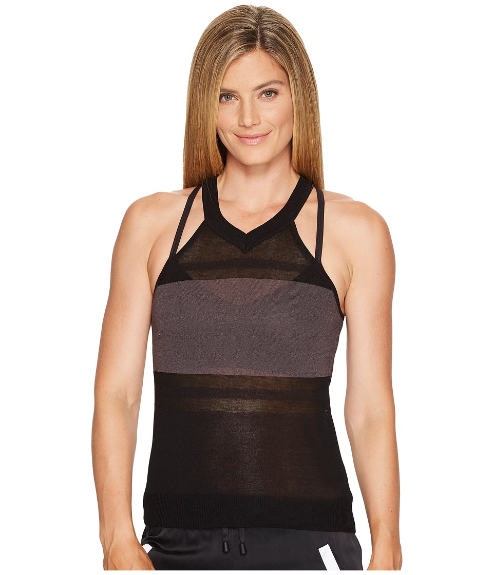 Blanc Noir - Vue Sweater Tank (Black) Women's Workout