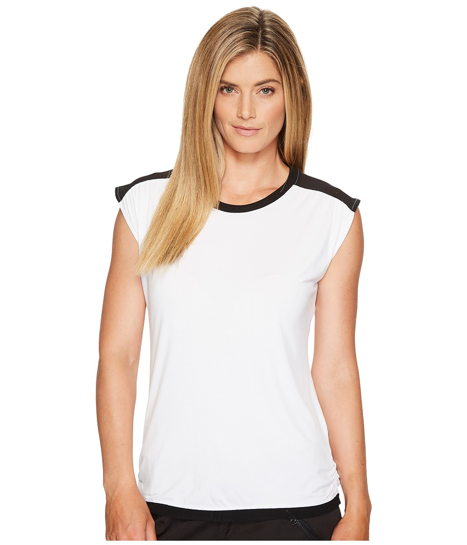 Blanc Noir - Riot Tank (White/Black) Women's Workout