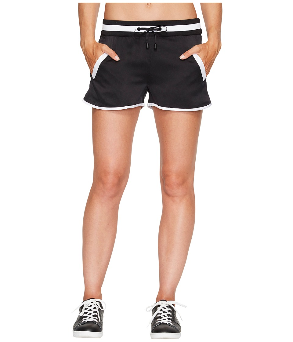 Blanc Noir - Venice Shorts (Black/White) Women's Workout