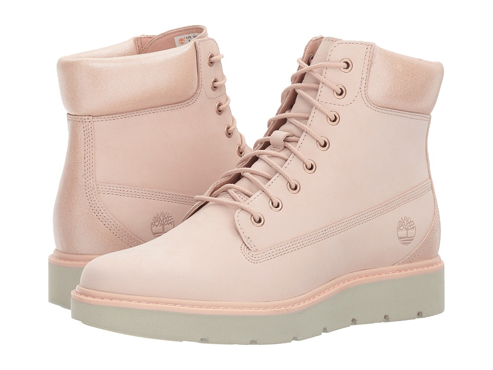 Timberland Kenniston 6 Lace-Up Boot (Light Pink Nubuck) Women