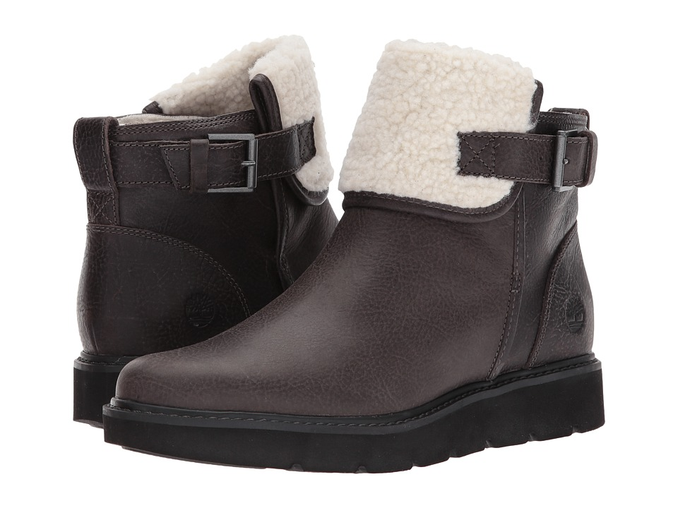 Timberland Kenniston Fleece Lined Boot (Dark Grey Full-Grain) Women
