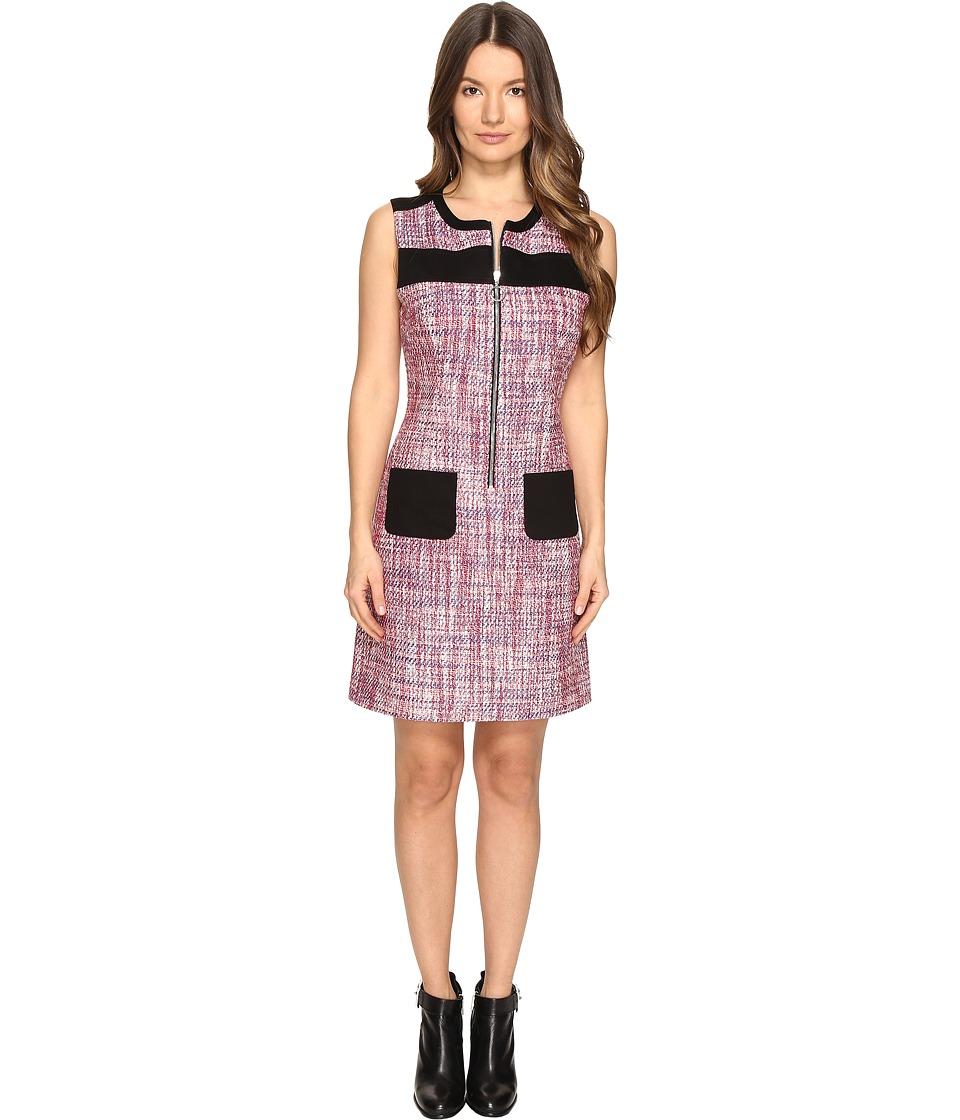 Sonia by Sonia Rykiel - Tweed Dress (Lips/Klein/White) Women's Dress