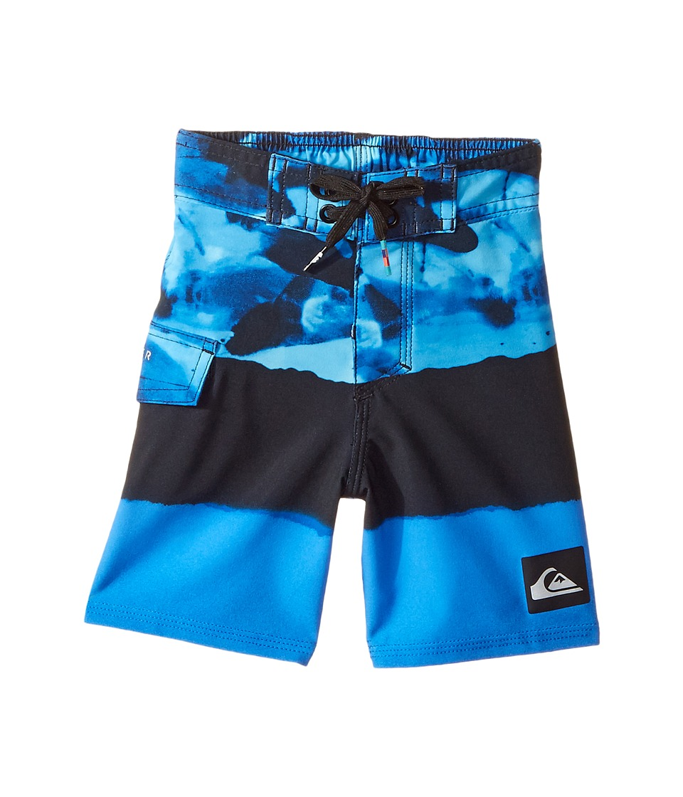 Quiksilver Kids Blocked Resin Camo Boardshorts (Toddler/Little Kid) (Turkish Sea) Boy