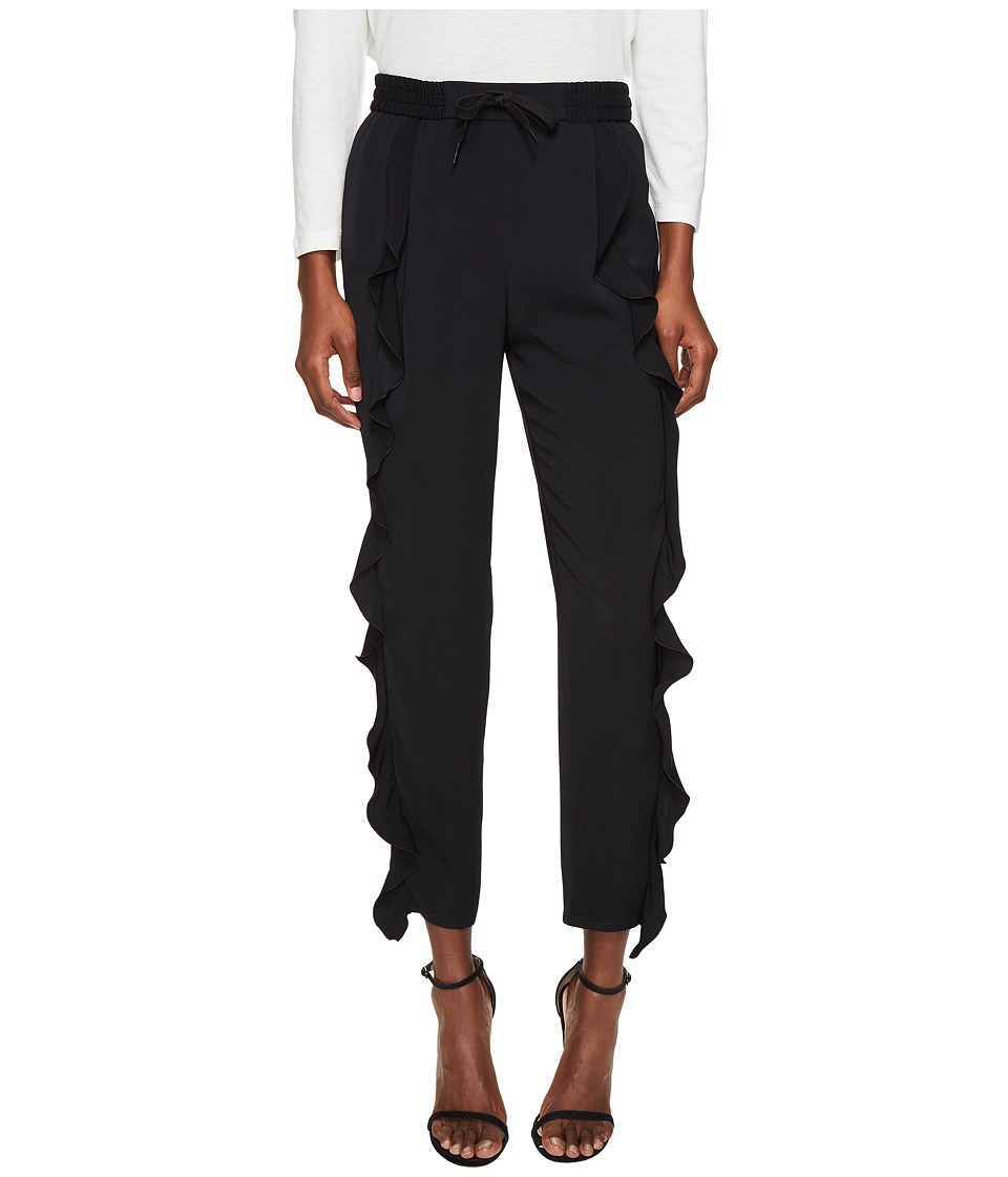 Sonia Rykiel - Charmeuse Trousers (Black) Women's Clothing