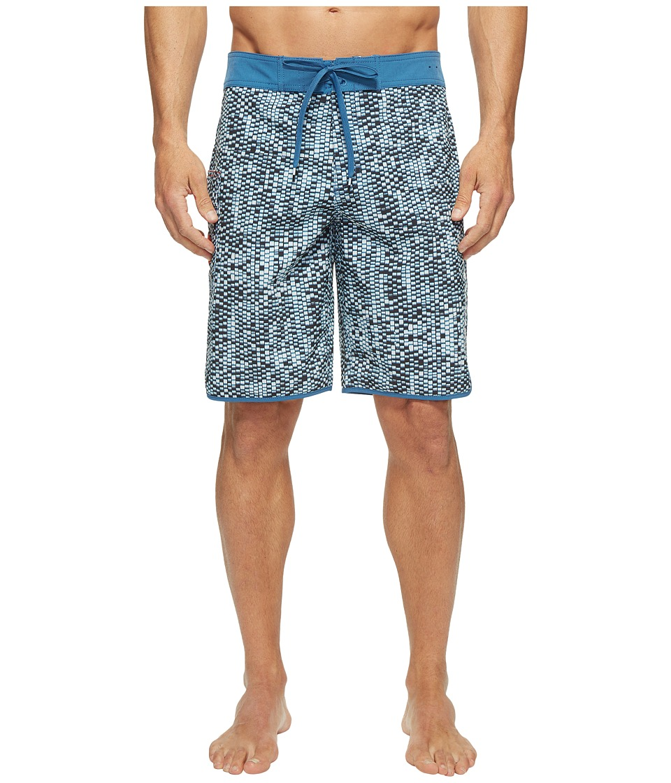RVCA - Eastern 20 Trunk (Vintage White) Men's Swimwear