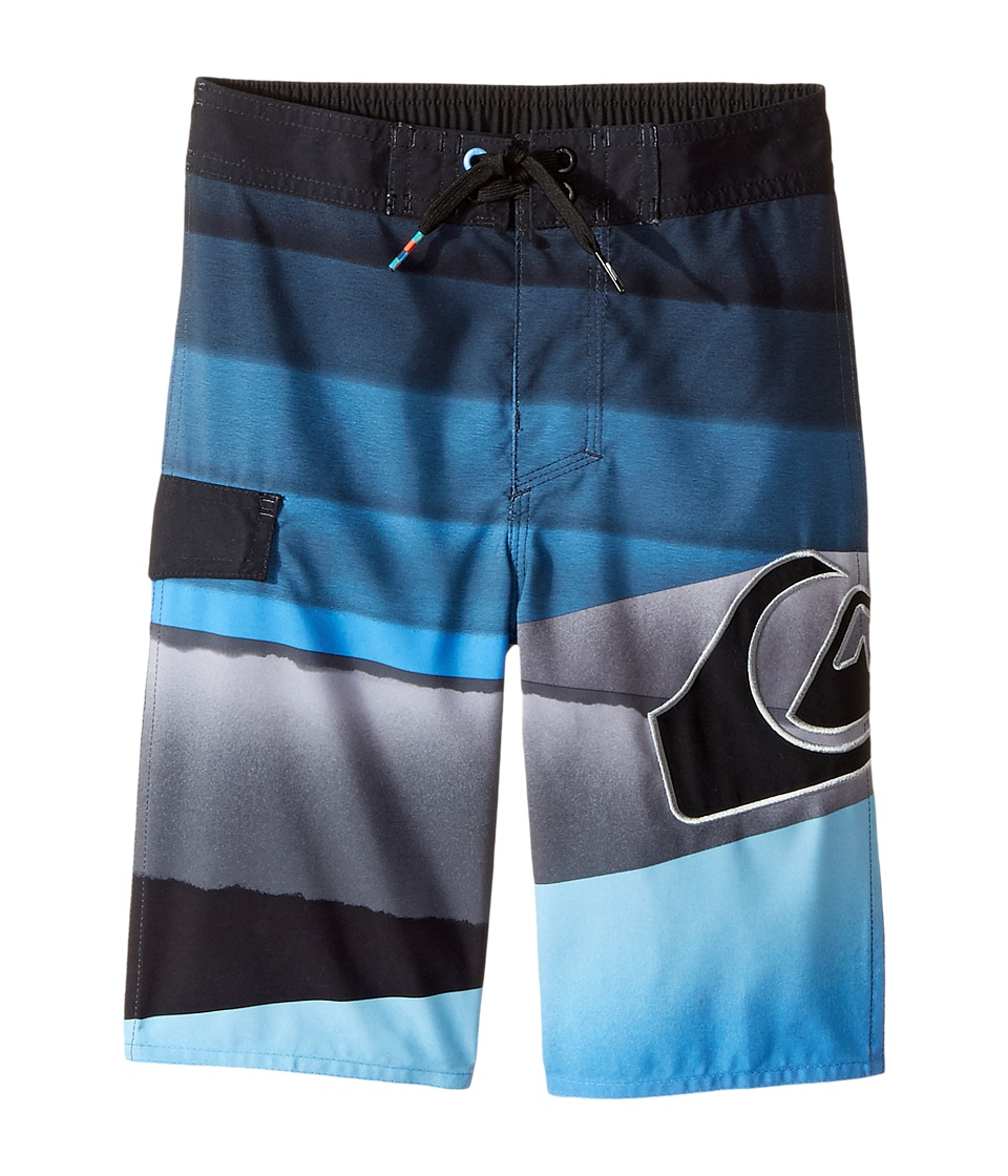Quiksilver Kids Slash Logo Boardshorts (Toddler/Little Kids) (Regatta) Boy