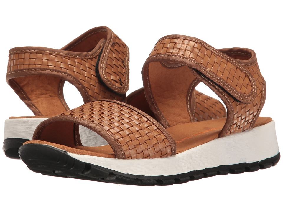 bernie mev. - Tara Leather (Caramel) Women's Sandals