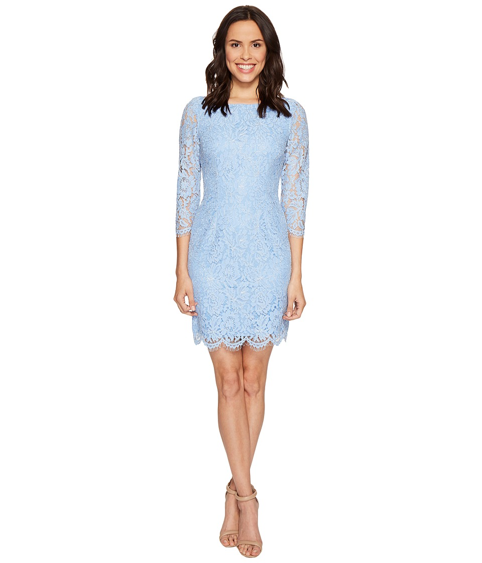 long sleeve mesh sheath dress