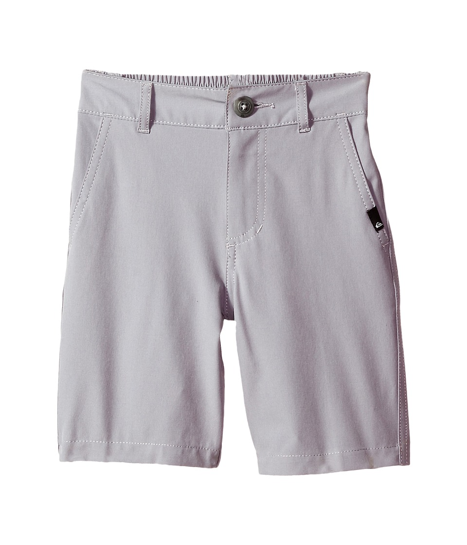 Quiksilver Kids - Union Amphibian Shorts (Toddler/Little Kids) (Sleet) Boy's Shorts