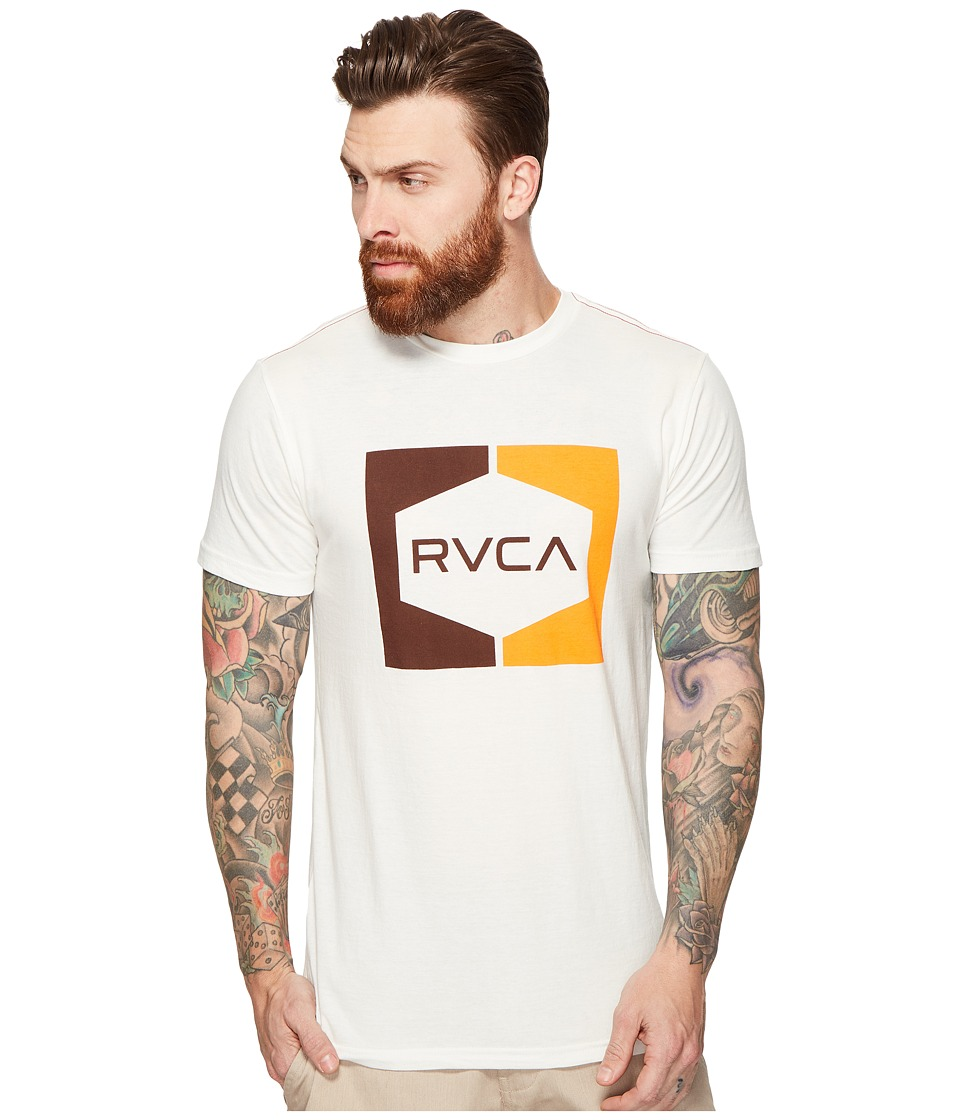 RVCA - Invert Hex Tee (Antique White) Men's T Shirt