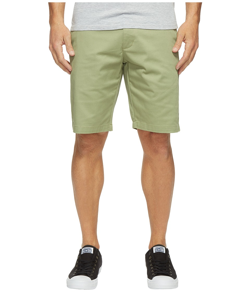 RVCA - The Week-End Stretch Shorts (Cadet Green) Men's Shorts