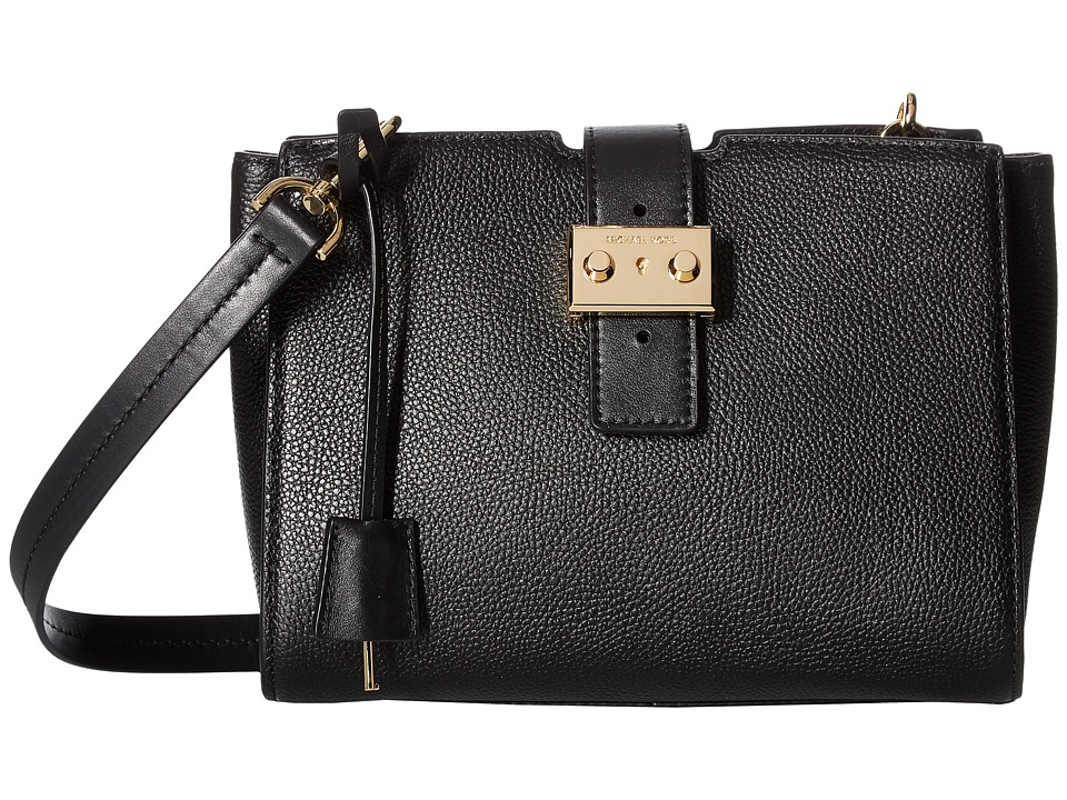 MICHAEL Michael Kors - Bond Medium Messenger (Black) Messenger Bags