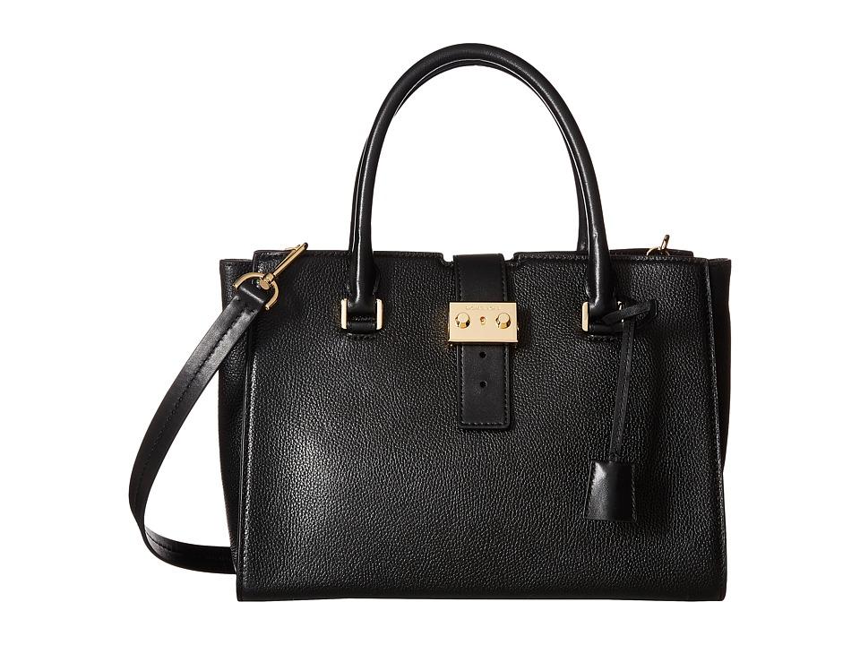 MICHAEL Michael Kors - Bond Medium Satchel (Black) Satchel Handbags