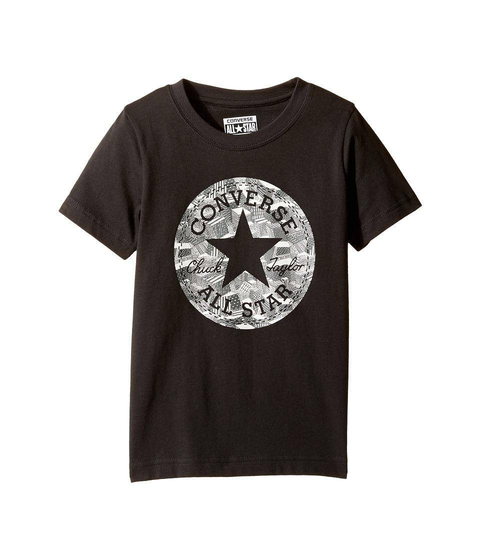 Converse Kids - Chuck Fill Tee (Toddler/Little Kids) (Black) Boy's T Shirt