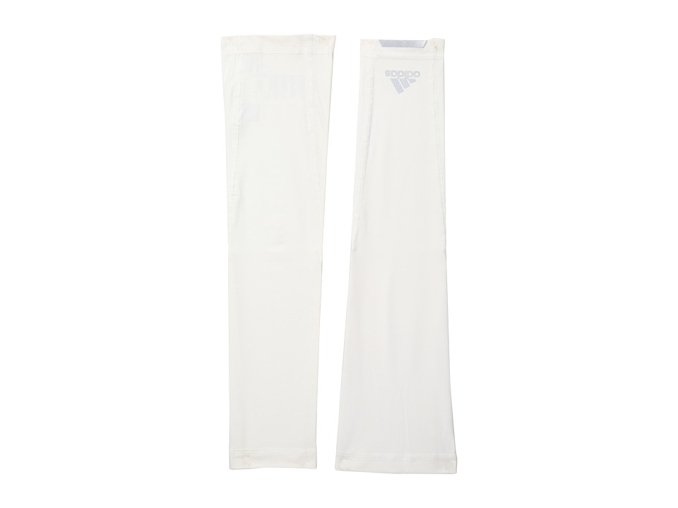 adidas Golf - CLIMACHILL Sleeves (White) Athletic Sports Equipment