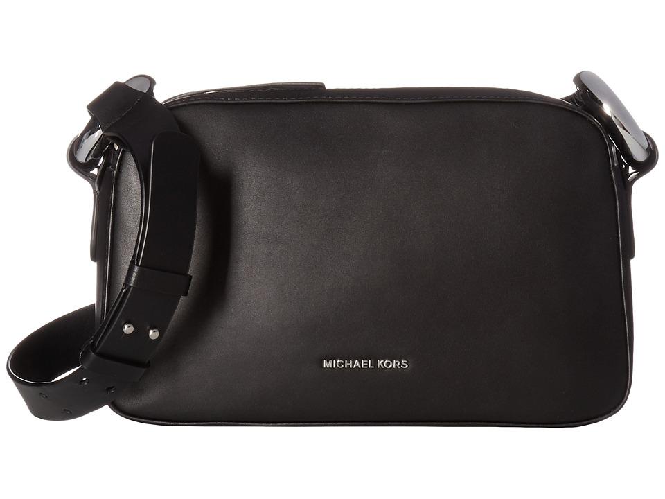 MICHAEL Michael Kors - Grand Medium Shoulder (Black) Shoulder Handbags