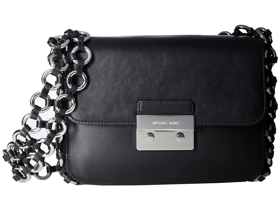 MICHAEL Michael Kors - Piper Large Shoulder Flap (Black) Shoulder Handbags