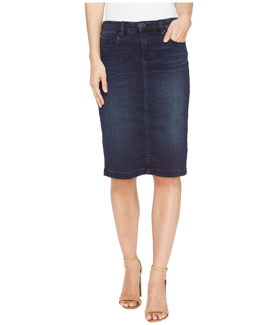 Blank NYC - Denim Pencil Skirt in Swing Away (Swing Away) Women's Skirt