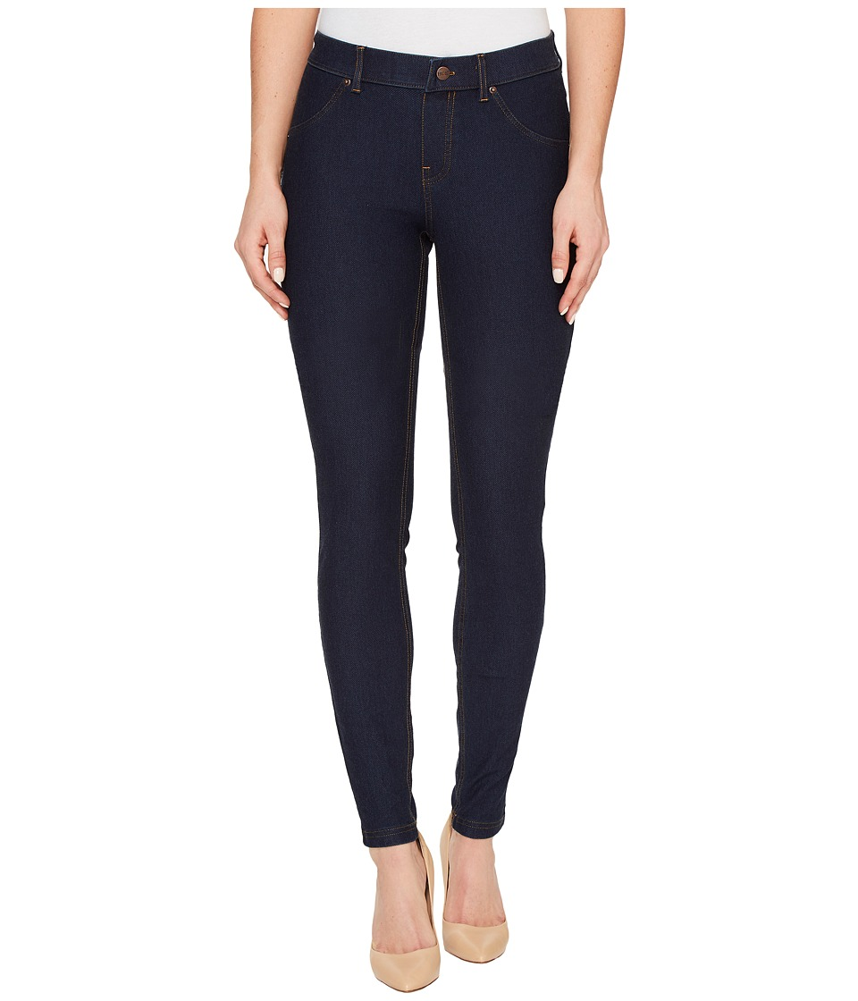 HUE Essential Denim Leggings (Tall) (Deep Indigo Wash) Women